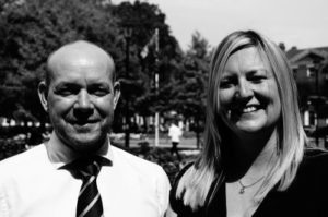 John and Rebecca, personal injury specialists